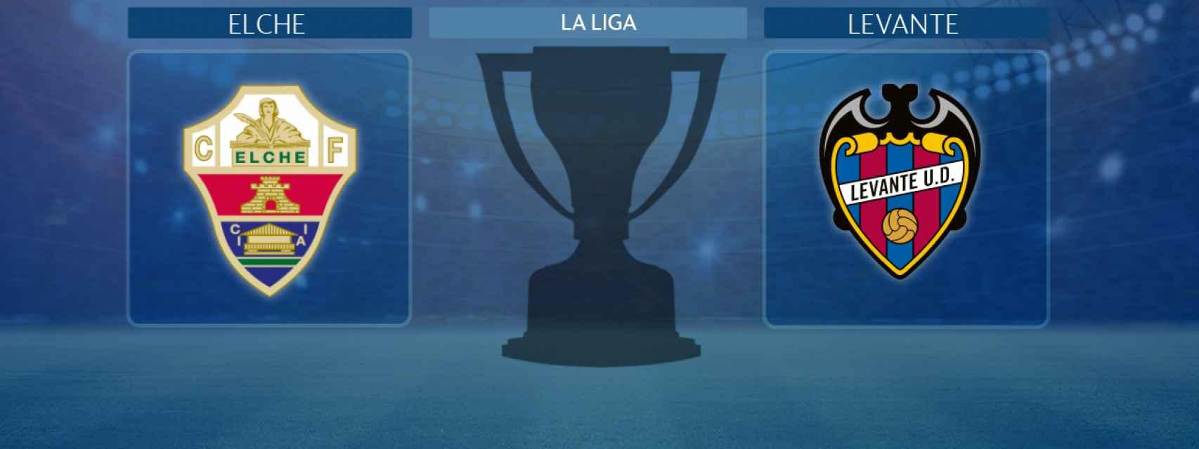 Elche - Levante, partido de La Liga