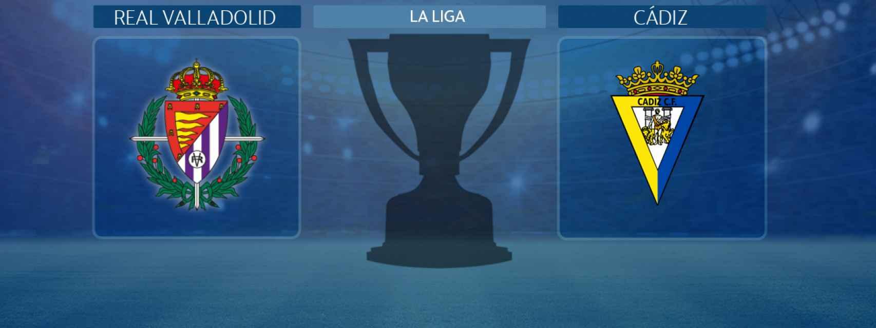Real Valladolid - Cádiz, partido de La Liga