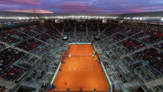 Pista central del Mutua Madrid Open