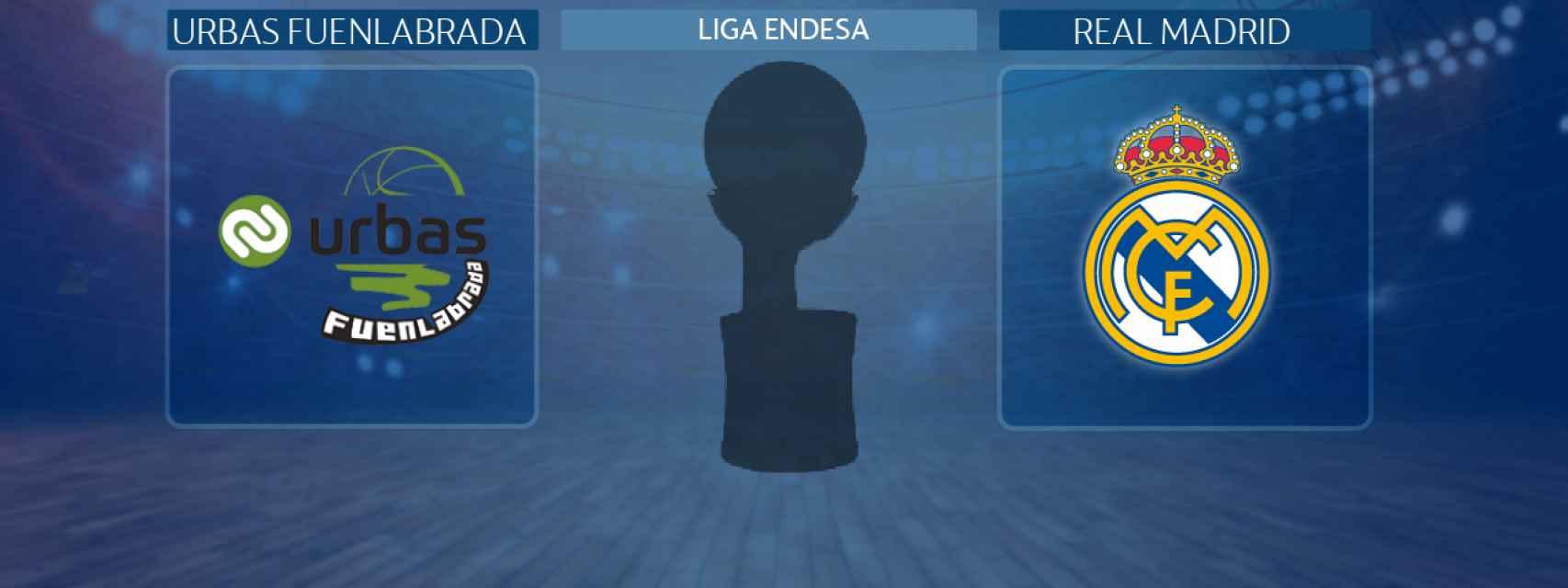Urbas Fuenlabrada - Real Madrid, partido de la Liga Endesa