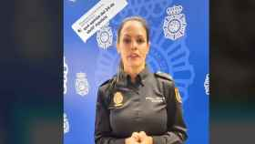Vídeo publicado por la Policía para desmentir el bulo.