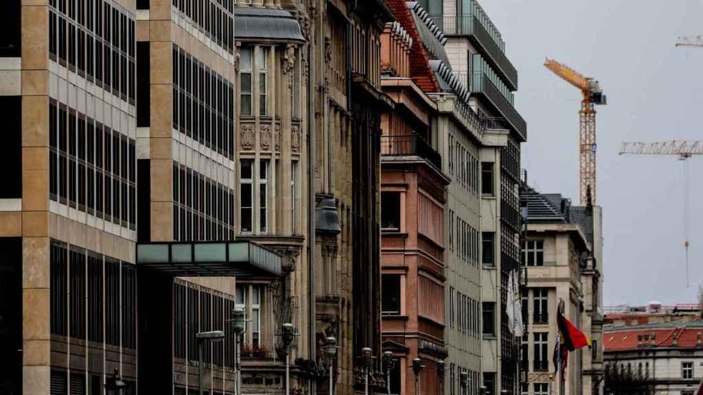 Un barrio residencial de Berlín.