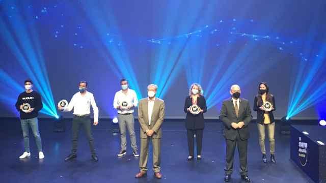 Los ganadores del Startup Andalucía Roadshow.
