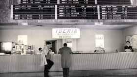 Mostrador de Iberia en el aeropuerto de Madrid-barajas. Fuente: Mitma.
