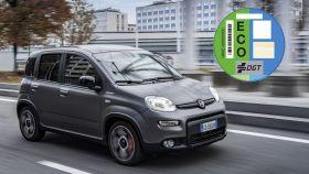 El Fiat Panda tiene la etiqueta ECO por ser un coche híbrido ligero.