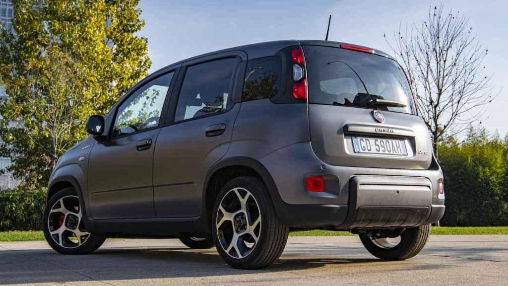 Fiat Panda con hibridación ligera.