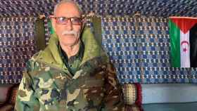 El líder el Frente Polisario, Brahim Ghali, en una foto de archivo.