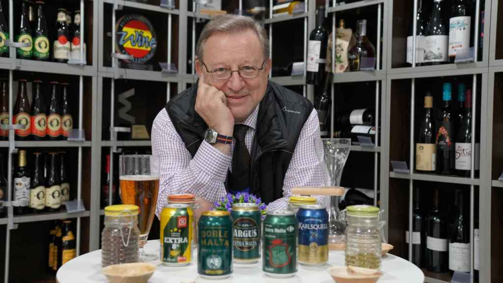 Las cinco cervezas probadas por Carlos Gómez, analista sensorial y profesor de la Escuela Española de Cata.