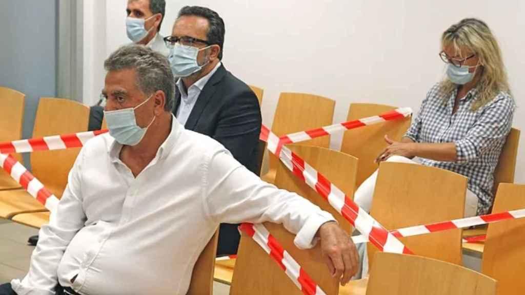 El empresario Enrique Ortiz durante el juicio de 'Brugal'.