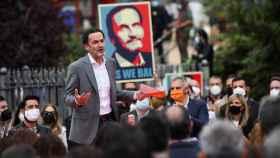 Edmundo Bal, en un acto de campaña.