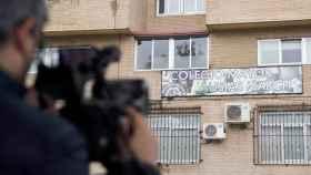 Imagen del colegio mayor donde se ha producido el brote.