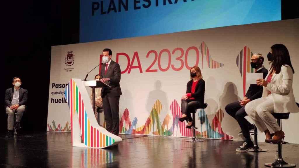 Presentación del Plan Estratégico de la Ciudad, la pasada semana.