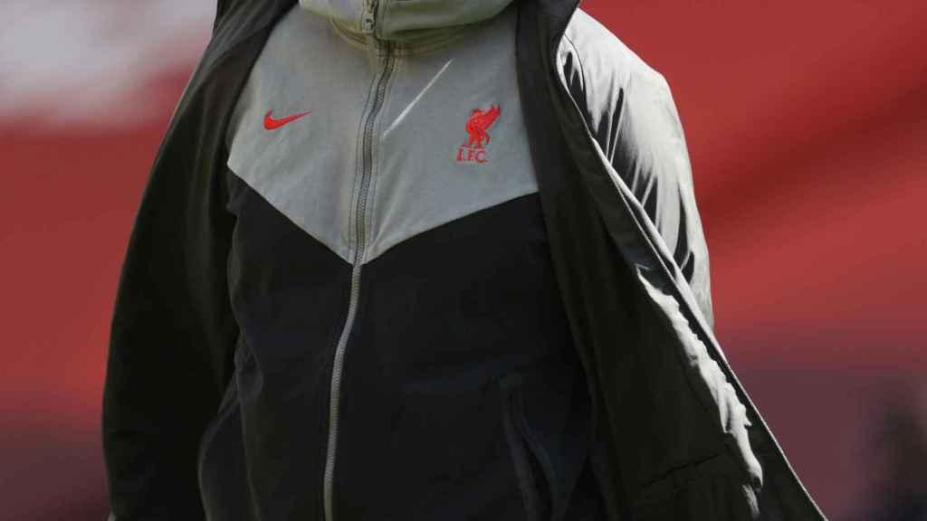 Jürgen Klopp, en un partido del Liverpool durante la temporada 2020/2021