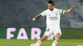 Isco Alarcón, en un partido del Real Madrid en la temporada 2020/2021