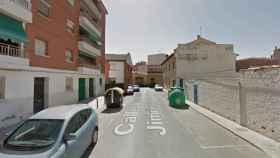 Calle Juan Ramón Jiménez de Tarancón. Foto: Google