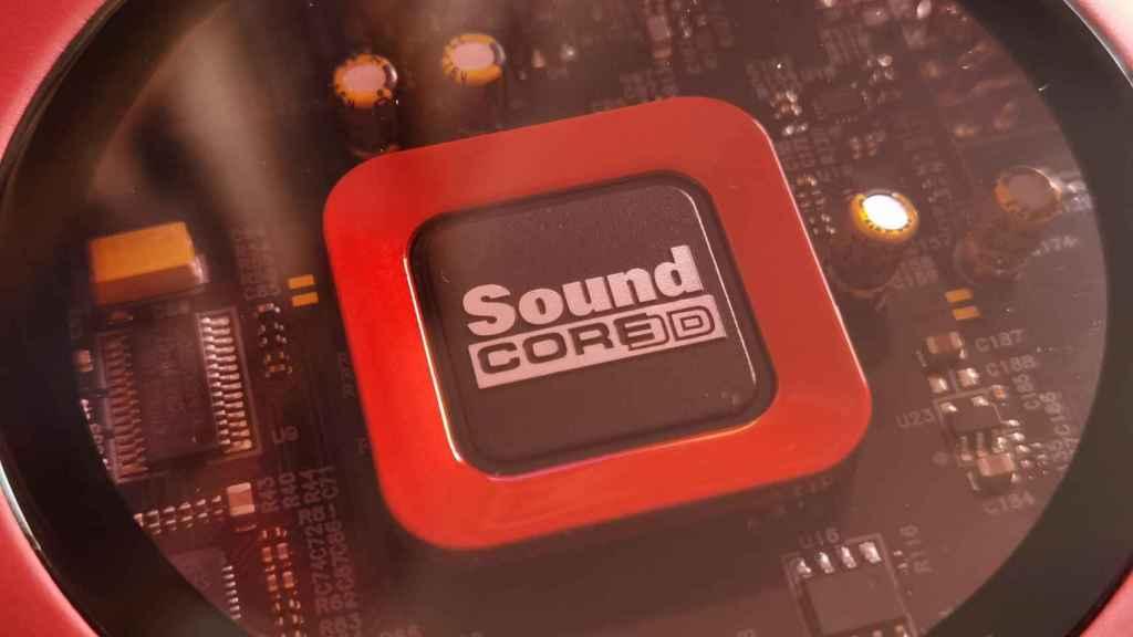 El Sound Core de la Sound Blaster Z SE