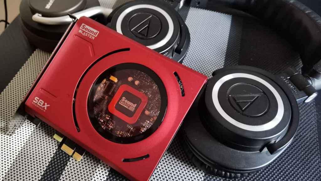 La Sound Blaster Z SE puede aprovechar unos buenos auriculares