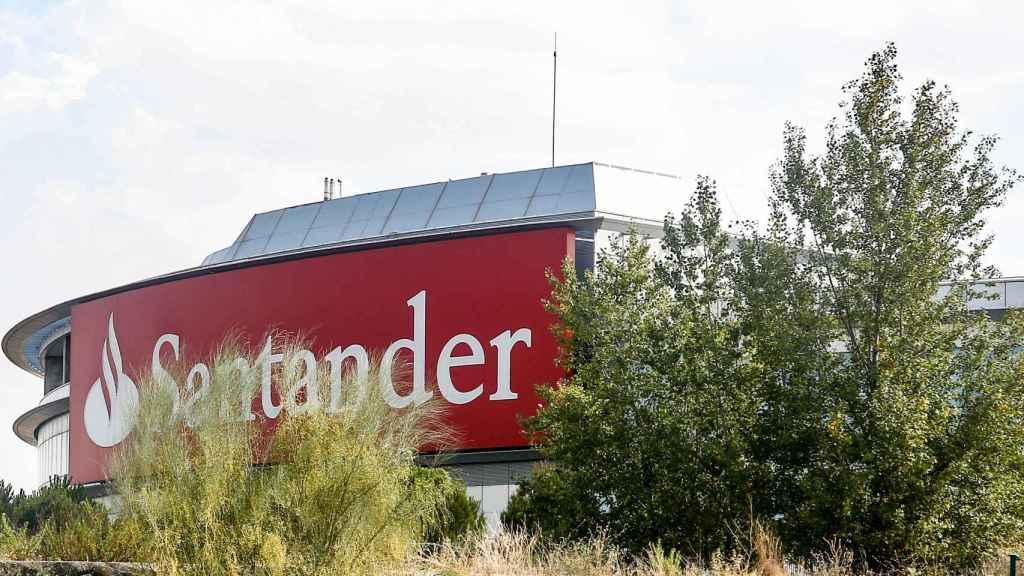 Sede del Banco Santander en Boadilla del Monte (Madrid).