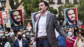 El candidato de Ciudadanos a la Presidencia de la Comunidad de Madrid, Edmundo Bal. Efe