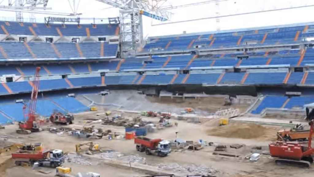 Interior del Santiago Bernabéu (Usuario Viajar es lo mio)