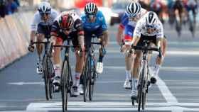 Pogacar vence en el sprint de la Lieja - Bastoña - Lieja 2021
