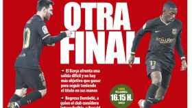 La portada del diario Mundo Deportivo (25/04/2021)