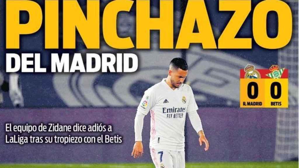 La portada del diario SPORT (25/04/2021)