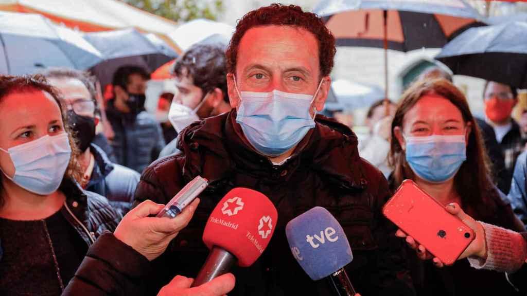 El candidato de Ciudadanos en San Lorenzo de El Escorial.