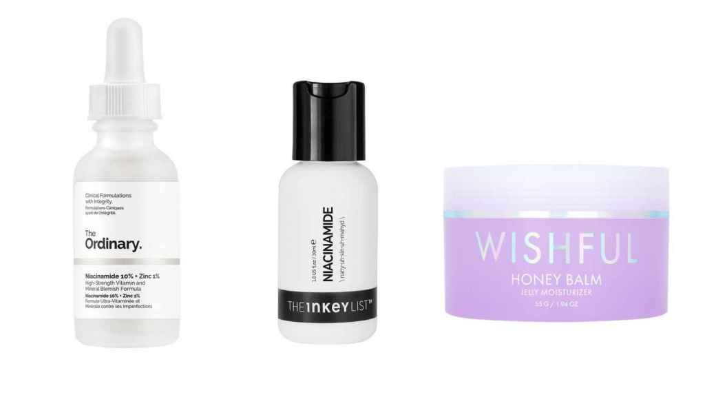 Niacinamide products are gaining some popularity.