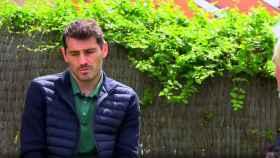 Iker Casillas, en la entrevista con Santi Cañizares