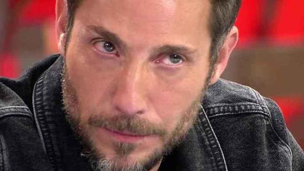 Antonio David Flores en su último intervención en 'Sálvame'.
