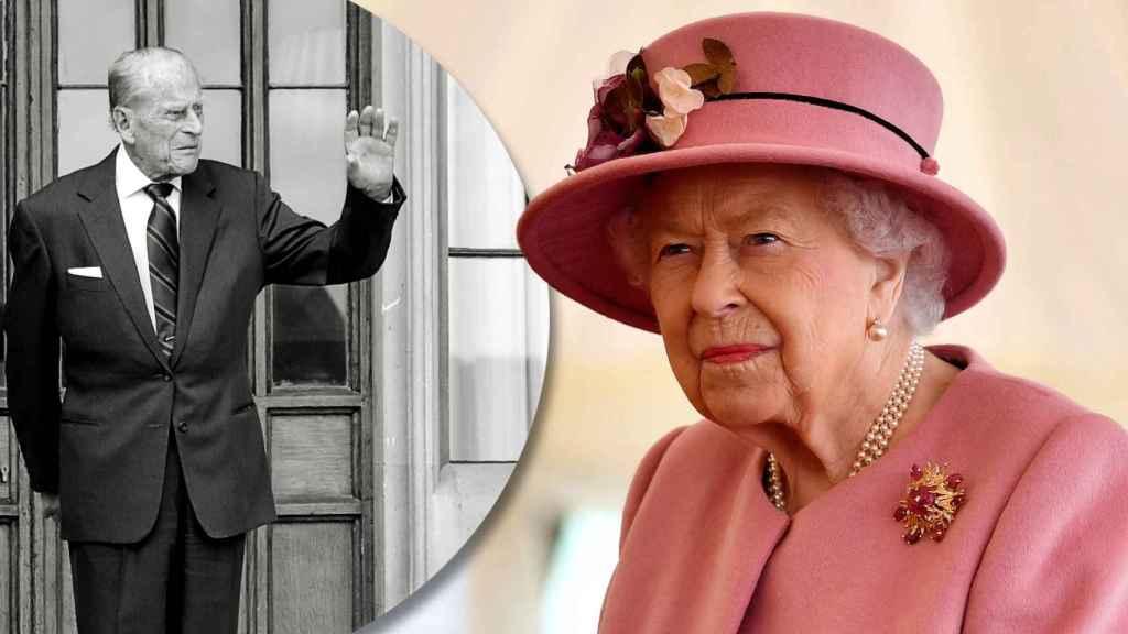 La reina Isabel II es la principal protagonista de Buckingham tras la muerte de su marido.