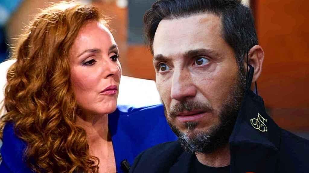Antonio David Flores y Rocío Carrasco, en un montaje de Jaleos.