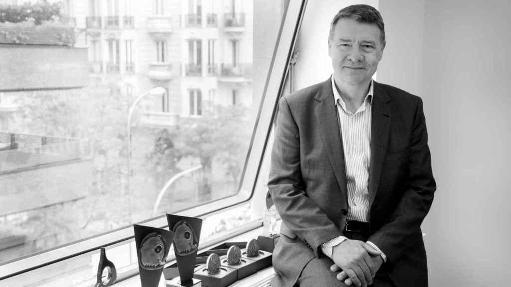 El economista, Jordi Sevilla, en la sede de LLYC.