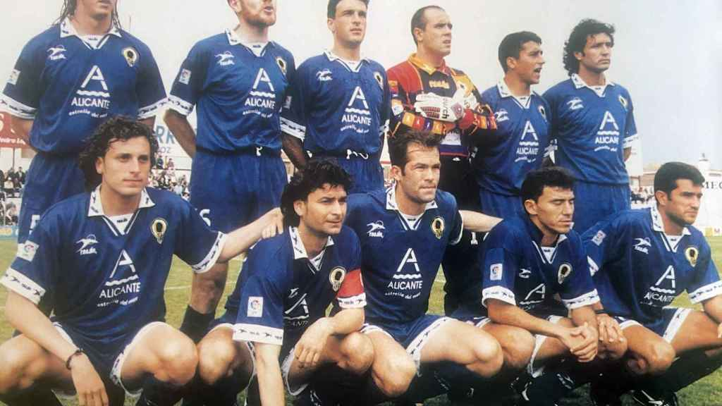 El once inicial que jugó en el estadio de Badajoz.