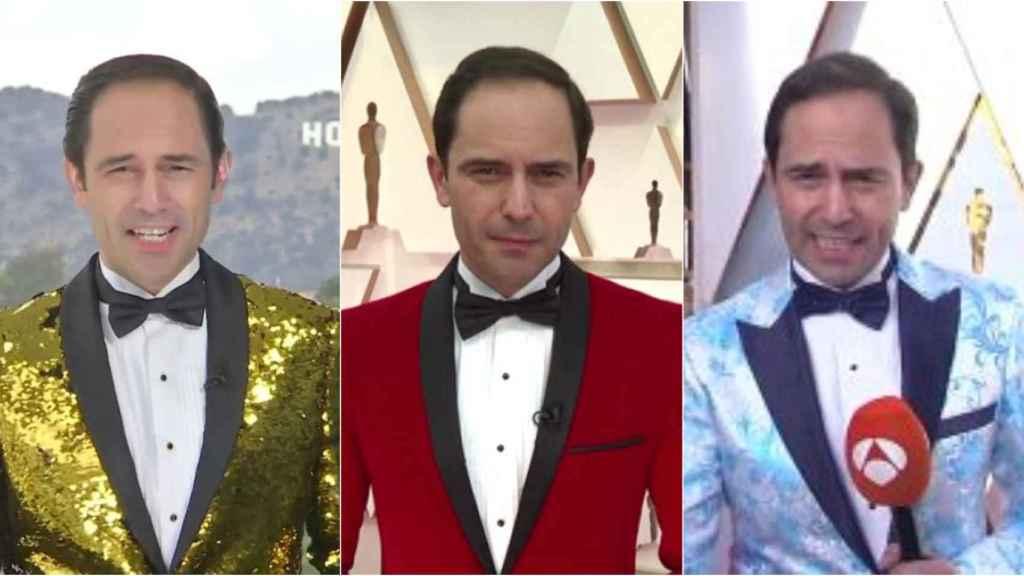 El periodista de Antena 3 sorprende cada año con sus llamativas chaquetas.