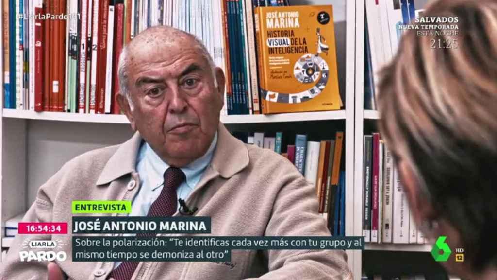 El filósofo José Antonio Marina ya advirtió de los peligros de la polarización política.
