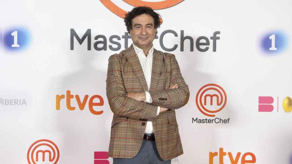Pepe Rodríguez en la presentación de la novena edición de 'MasterChef'.
