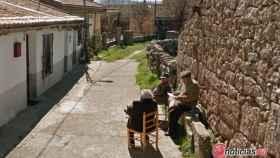 ancianos pueblo salamanca
