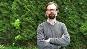 El investigador Germán Orizaola, de la Universidad de Oviedo.