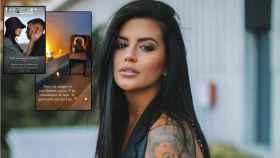 Varias imágenes de las redes sociales de Lola Ortiz en un montaje de JALEOS.