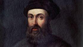 Retrato de Fernando de Magallanes conservado en el Museo Naval.