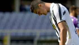 Cristiano Ronaldo se lamenta por otro pinchazo de la Juventus