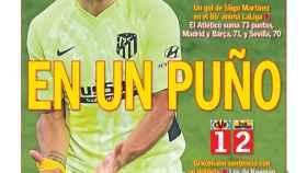 La portada del diario AS (26/04/2021)
