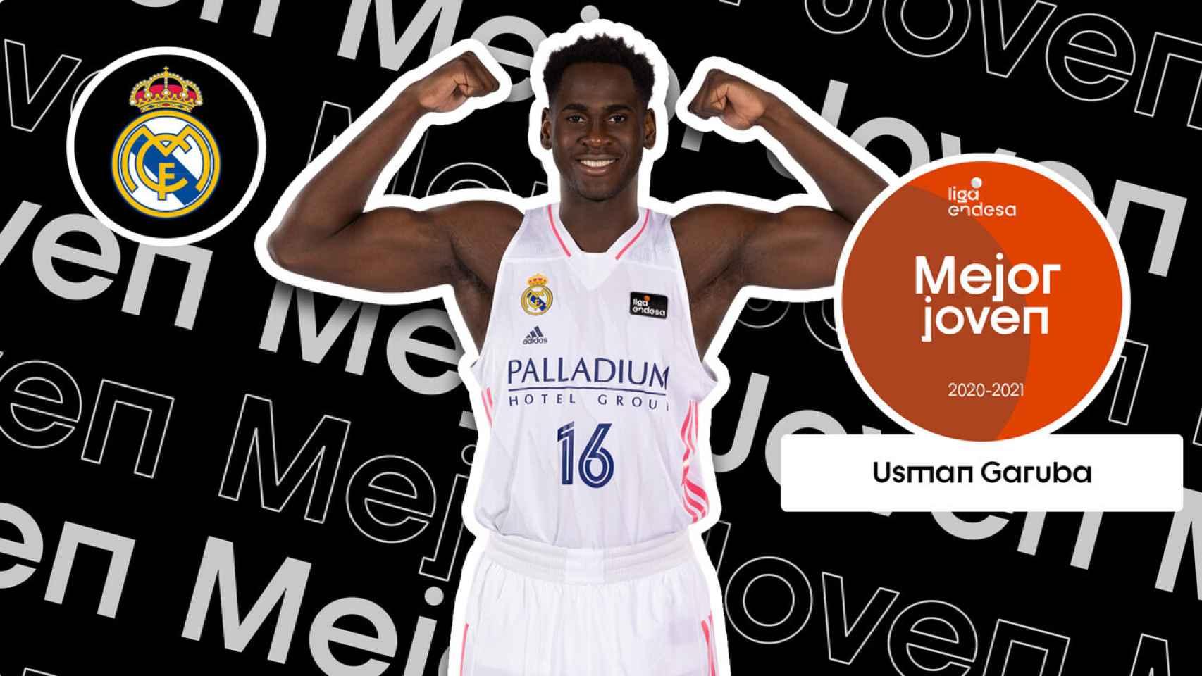 Usman Garuba, mejor jugador joven de la ACB 2021
