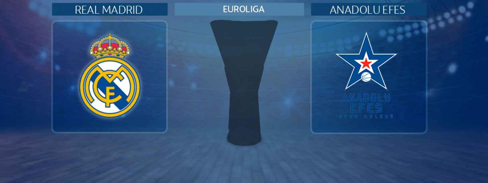 Real Madrid - Anadolu Efes, partido de la Euroliga