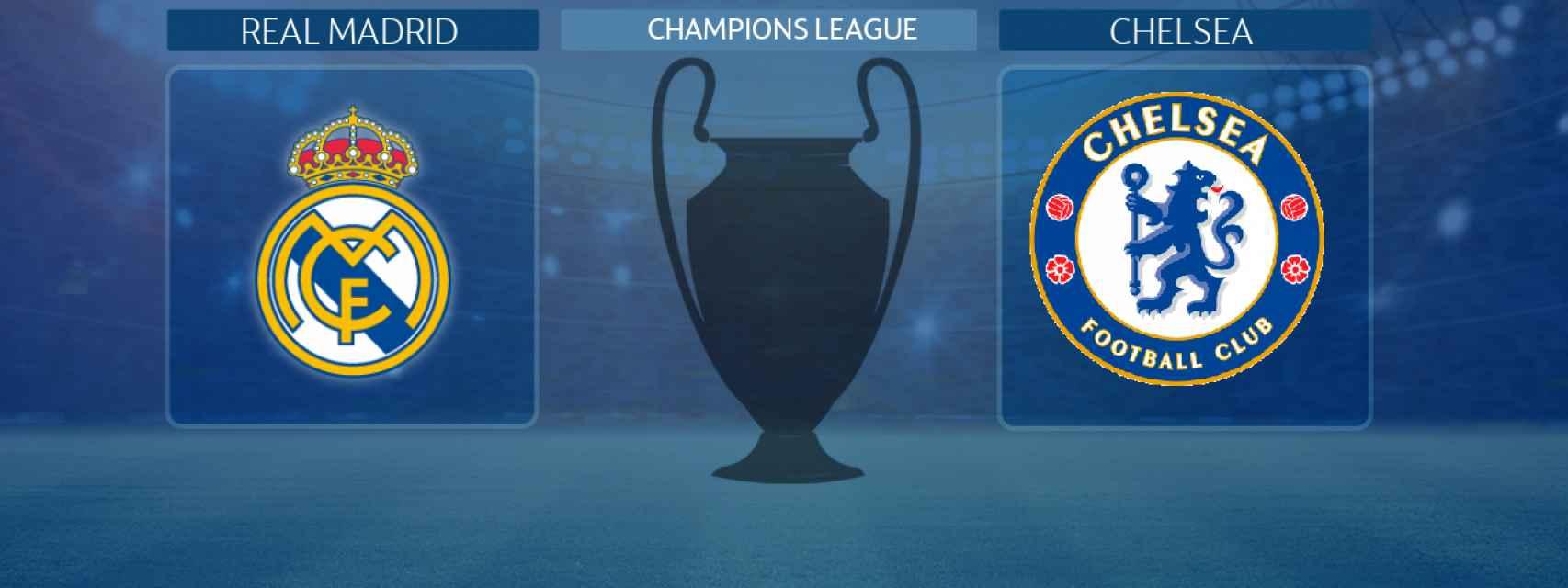 Real Madrid - Chelsea, partido de la Champions League