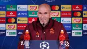 Zidane: El Real Madrid quiere estar en la próxima Champions League