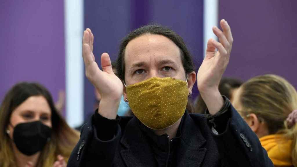 El candidato de Podemos a la Presidencia de la Comunidad de Madrid, Pablo Iglesias. Efe