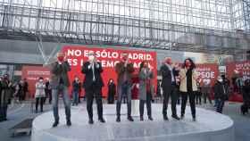 Acto de campaña de Ángel Gabilondo en Getafe.